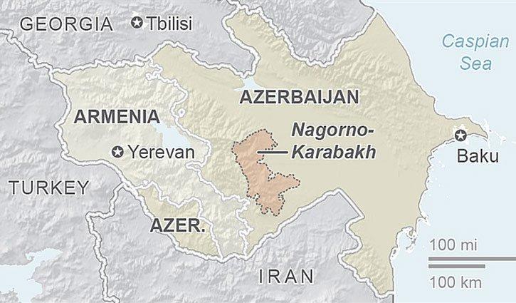 আজারবাইজান-আর্মেনিয়া যুদ্ধের সবশেষ তথ্য খবর