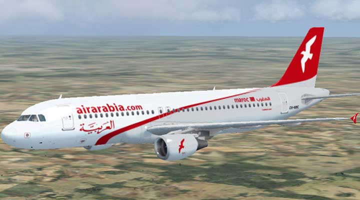 An Air Arabia Aircraft