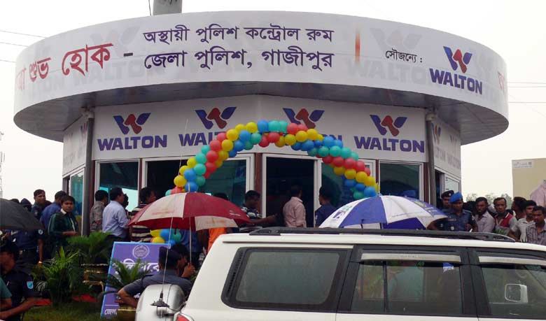 Walton's initiative in preventing road accident