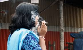 Number of women tobacco users rising in India