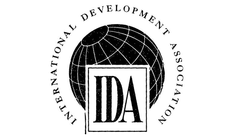 Logo of International Development Association (IDA)