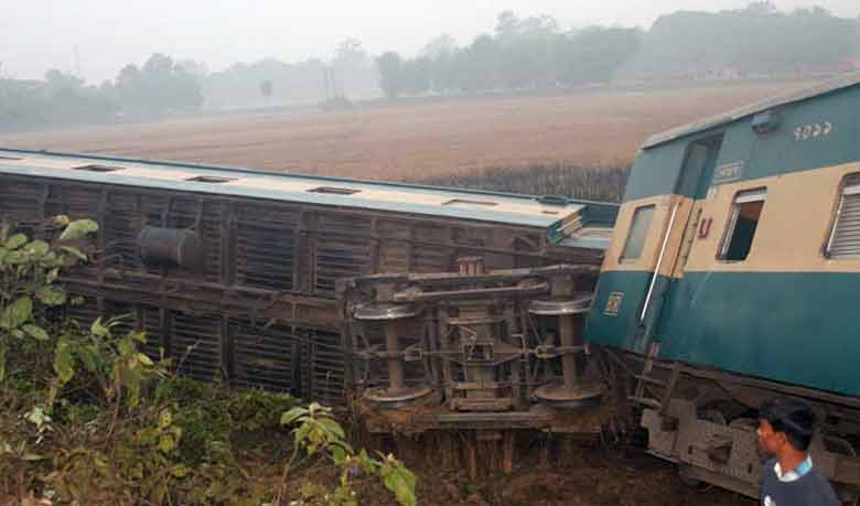 Chittagong rail link with country snapped