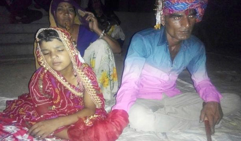 35-year-old man tried to marry girl aged 6