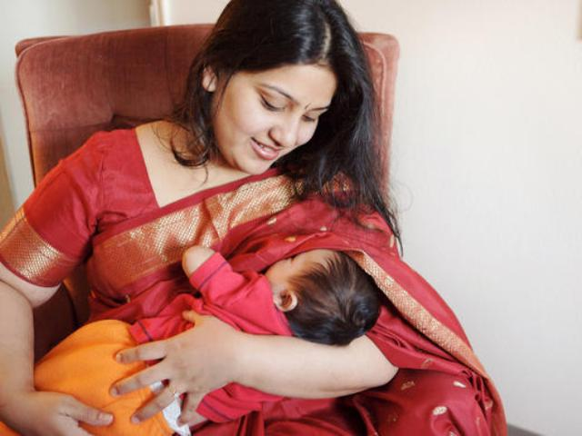 Breastfeeding catching on globally