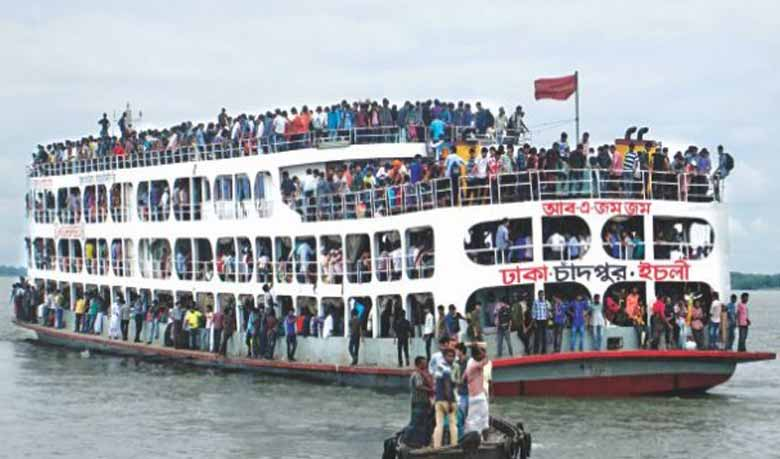 Special security in waterways ahead of Eid