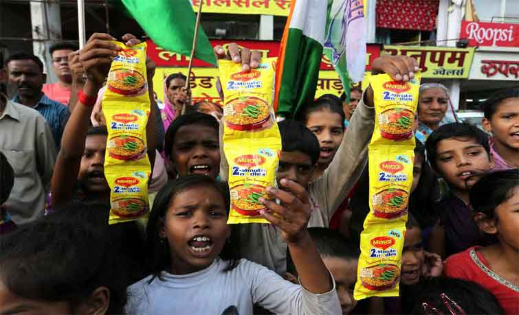 Nestle said in a statement it had gone to the high court in Mumbai seeking a judicial review