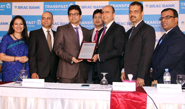 Transfast-BRAC Bank launches instant bank deposit service