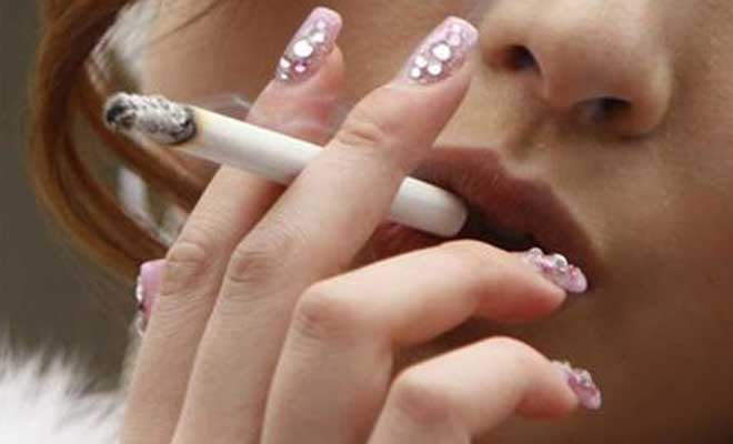 Jump in number of Indian women who smoke