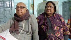 স্ত্রী সৈয়দা সালেহা খাতুনের সঙ্গে ভাষাসংগ্রামী সৈয়দ আব্দুল হান্নান