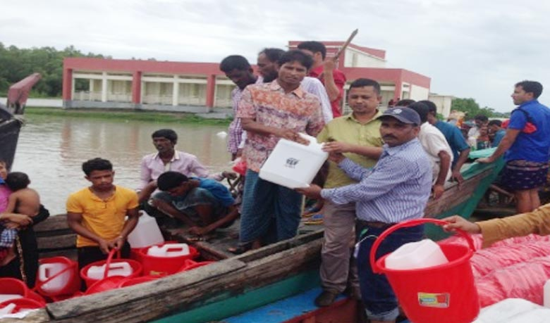 Adequate relief goods needed for flood-hit people