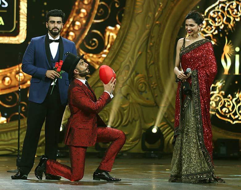 Ranveer, Deepika win top laurels at IIFA Awards 2016