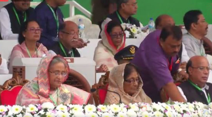 Prime Minister Sheikh Hasina and other senior leaders