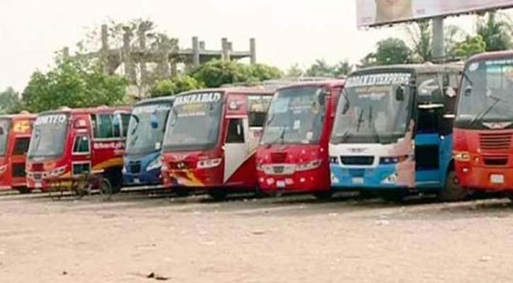 Indefinite transport strike begins in Gaibandha