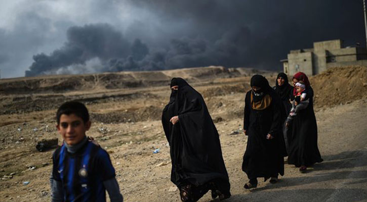IS atrocities in Mosul