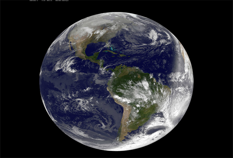 Earth`s oxygen levels are decreasing