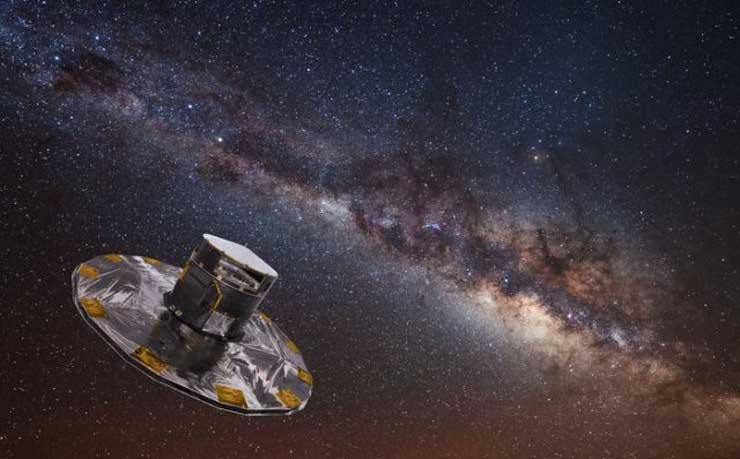 More than a billion stars mapped in Milky Way