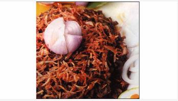 রেসিপি : মাংসের ঝুরি