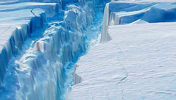 Huge Antarctic iceberg poised to break away