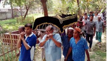 Raudha Athif buried in Rajshahi