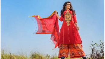 রঙ বাংলাদেশ-এ বৈশাখের পোশাক