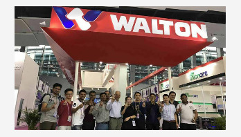 Walton gets huge export orders in China's Canton Fair