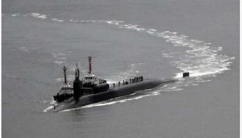 US submarine makes South Korea port call