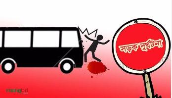 Man killed as bus hits at Paltan