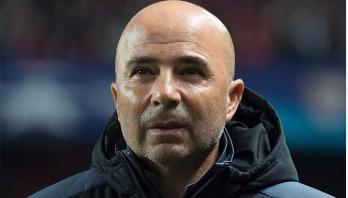 Sampaoli being Argentina coach, says AFA president