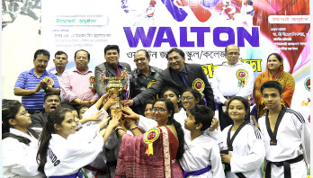 ওয়ালটন জাতীয় স্কুল-কলেজ তায়কোয়ানডো প্রতিযোগিতা সমাপ্ত