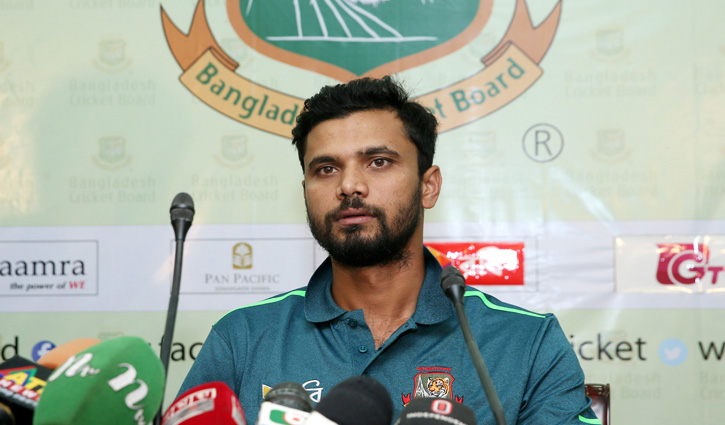 Mashrafe confident of doing well in Champions Trophy