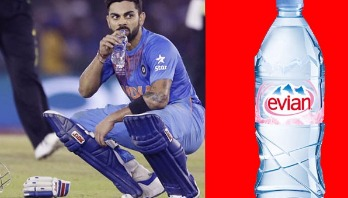 Virat Kohli costs Rs 600 for per litre drinking water