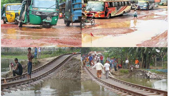 Take quick steps to repair roads, railways