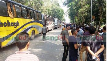 ঢাকা-আরিচা মহাসড়কে ১০ কিলোমিটার যানজট