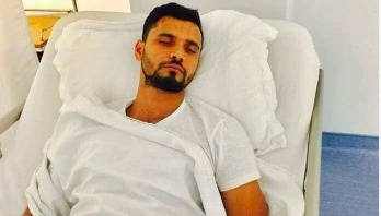 Mashrafe returns home from hospital