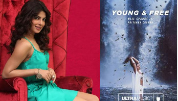Priyanka's 4th single, Young and Free, is out