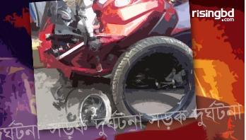ফ্লাইওভারে মোটরসাইকেলের ২ আরোহী নিহত