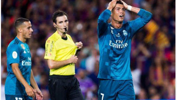 Ronaldo banned for five games