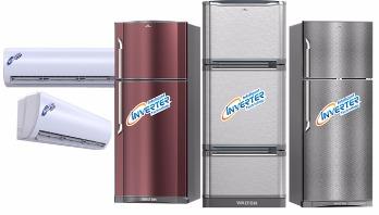 Walton manufactures power saving inverter technology fridges, ACs