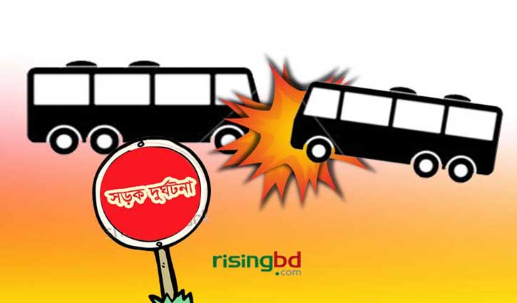 5 killed in collision between 2 buses in Pabna