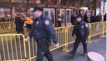 Blast at New York bus terminal