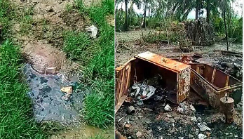 Military tried to burn off faces of Rohingya left in mass graves