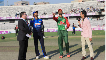 Tigers bowling against Sri Lanka in 2nd T20I