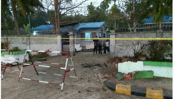 Rakhine's capital rocked by three bombs