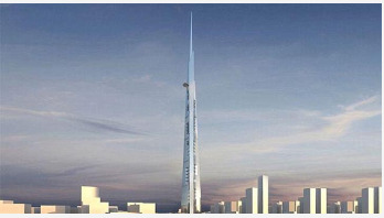 World's tallest building takes shape