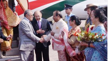 Red carpet rolled out as President reaches Guwahati