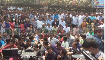 BNP's sit-in programme foiled
