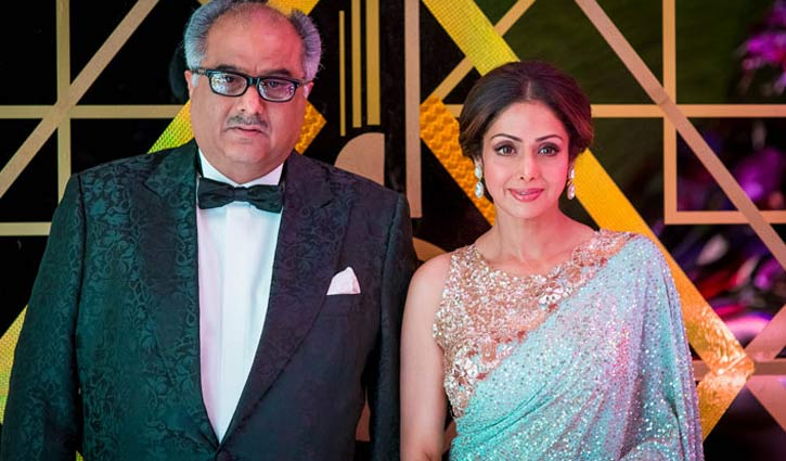 Boney Kapoor's heartfelt letter on Sridevi