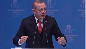 Erdogan calls for recognition of Jerusalem as Palestine capital