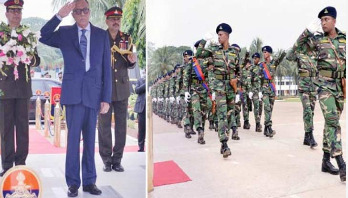 President receives salute of Victory Day parade