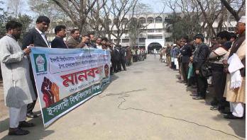 IU teachers protest attack on IU VC